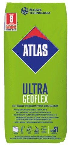 Klej żelowy wysokoelastyczny ATLAS GEOFLEX ULTRA 25 kg