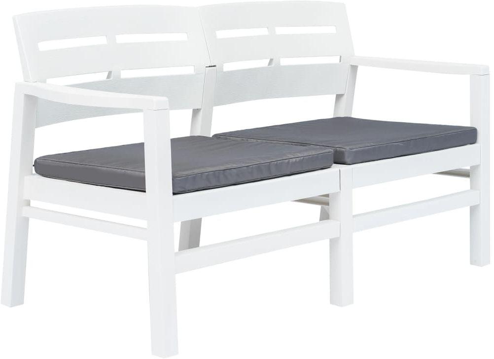 Ogrodowa ławka z poduszkami Pati