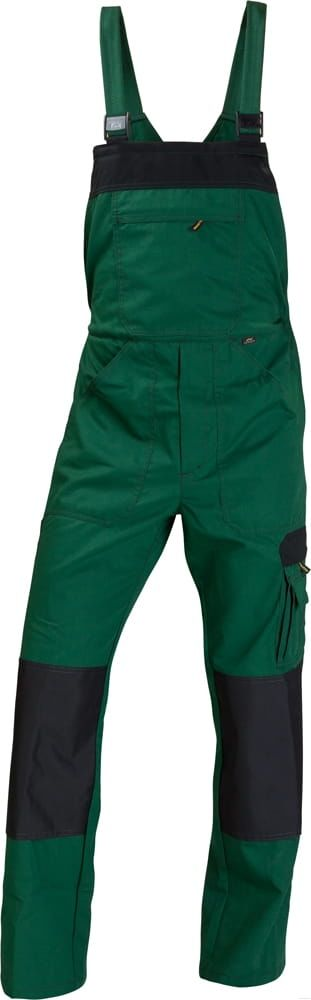 Spodnie ogrodniczki Work zielone