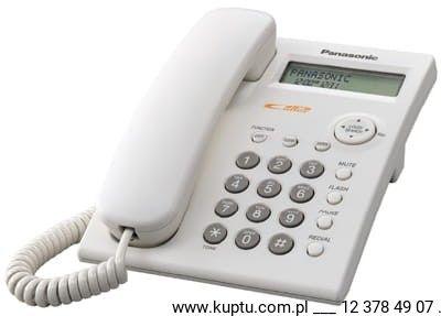 KX-TSC11PDW telefon przewodowy z identyfikacją