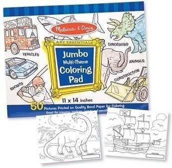 Kolorowanka jumbo dla chłopców