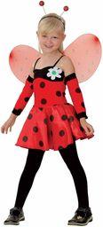 P''tit Clown 88116 kostium biedronki dla dzieci  czerwony