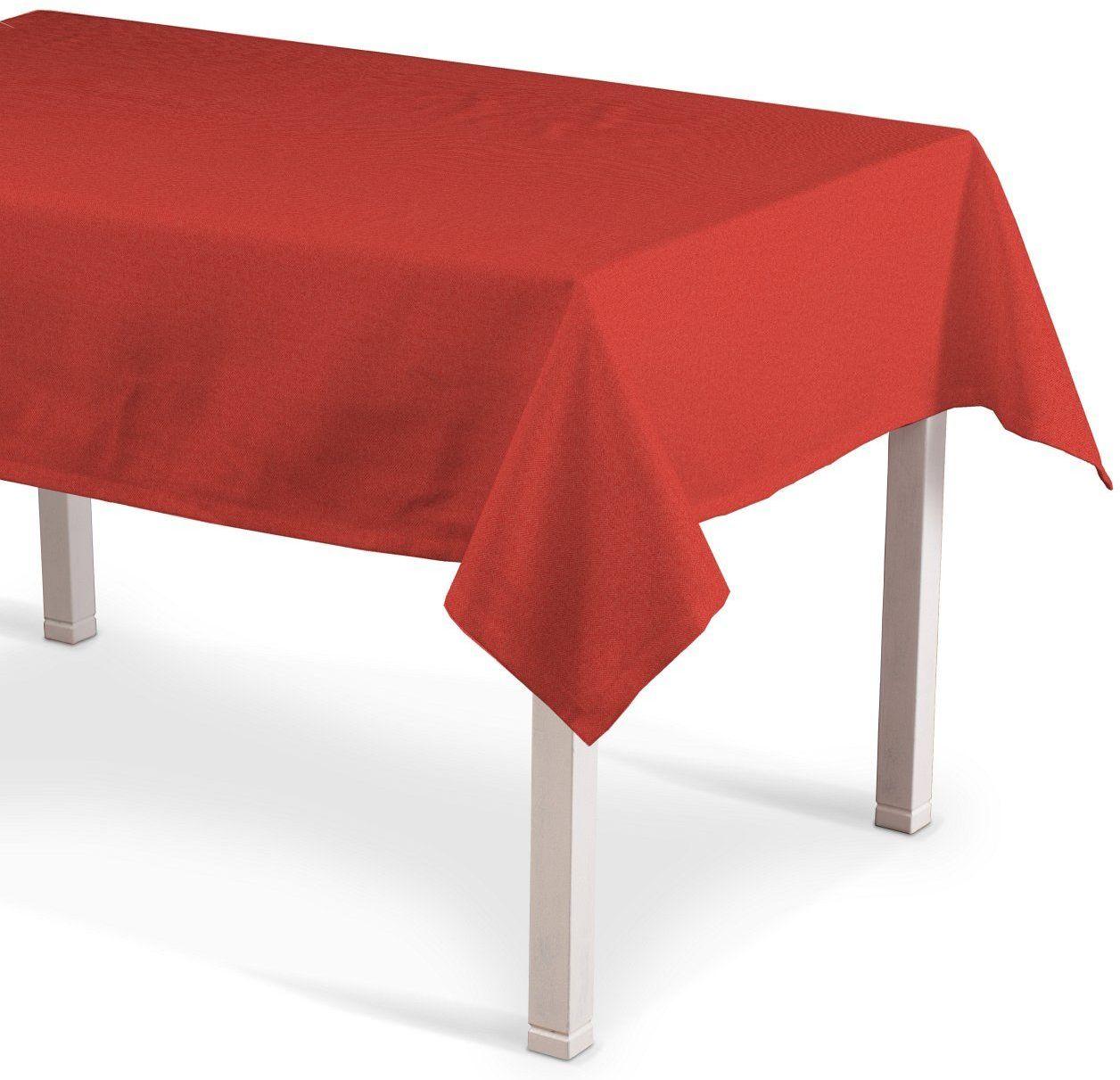 Obrus prostokątny, jodełka zgaszona czerwień, 130  160 cm, do -50%