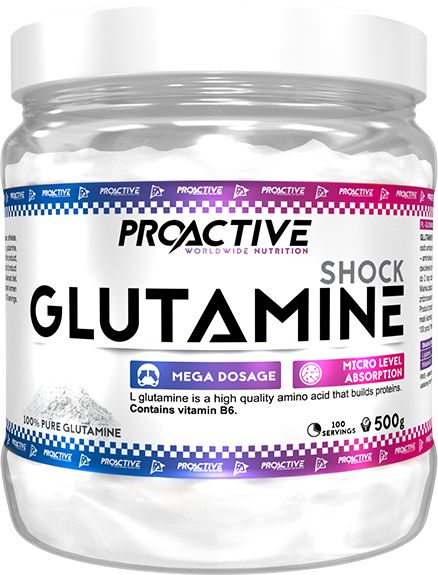 ProActive Glutamine 500g Natural
