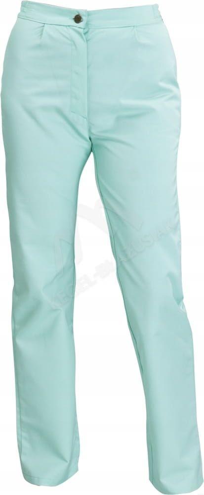 Spodnie damskie seledynowe