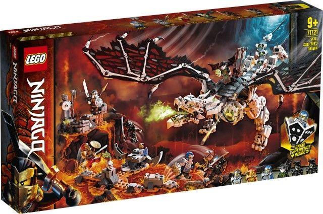 LEGO Ninjago - Smok Szkieletowego Czarownika 71721