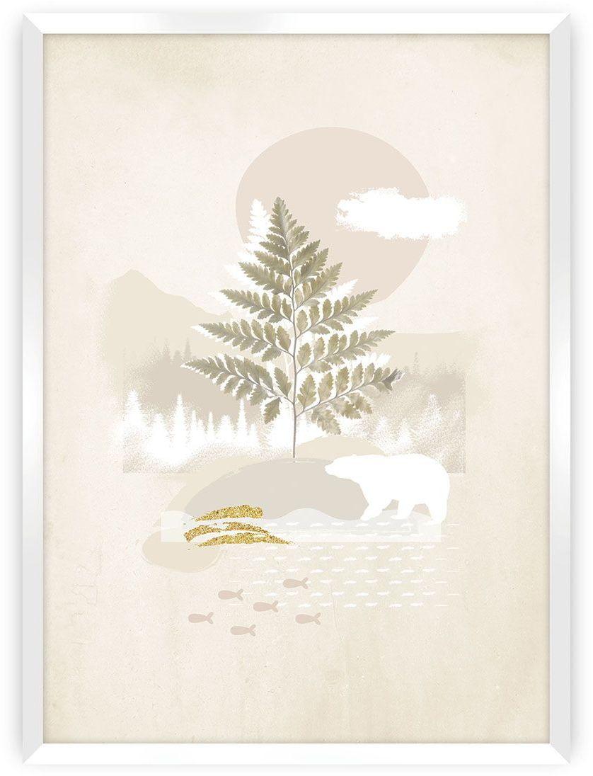 Plakat Beige Abstract II