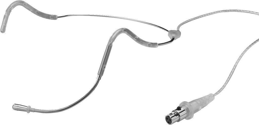 MONACOR HSE-160/CR Ultralekki mikrofon nagłowny