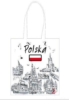 Torba bawełniana Polska farba
