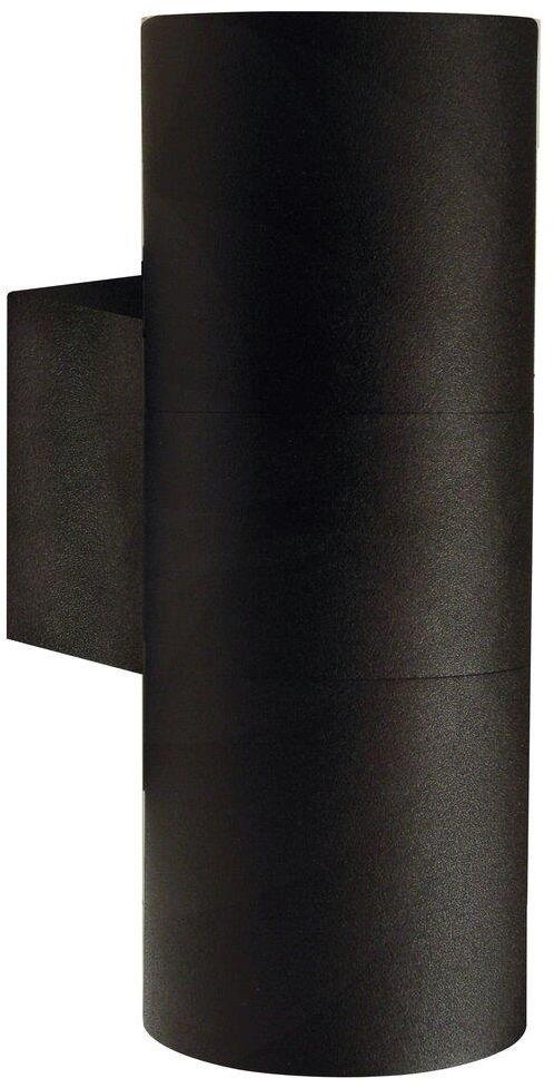 Kinkiet zewnętrzny Tin Maxi 21519903 Nordlux podwójna oprawa w kolorze czarnym