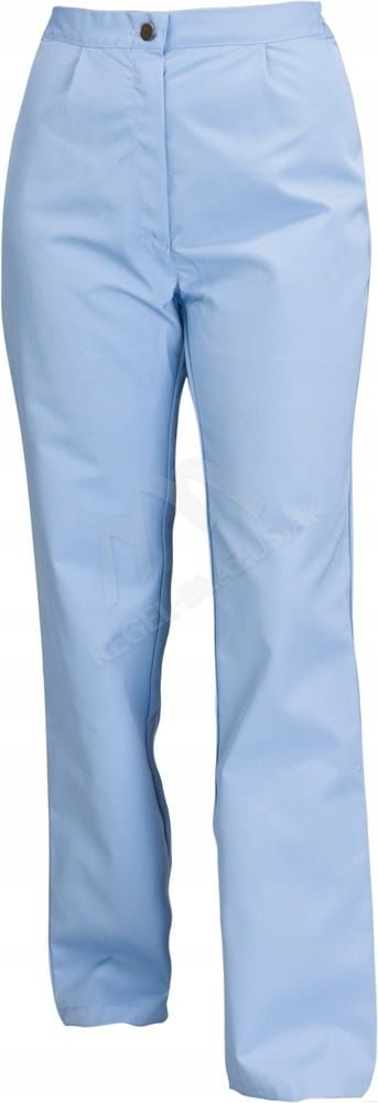 Spodnie damskie błękit