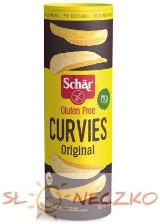 Chipsy ziemniaczane naturalne bezglutenowe 170 g SCHAR