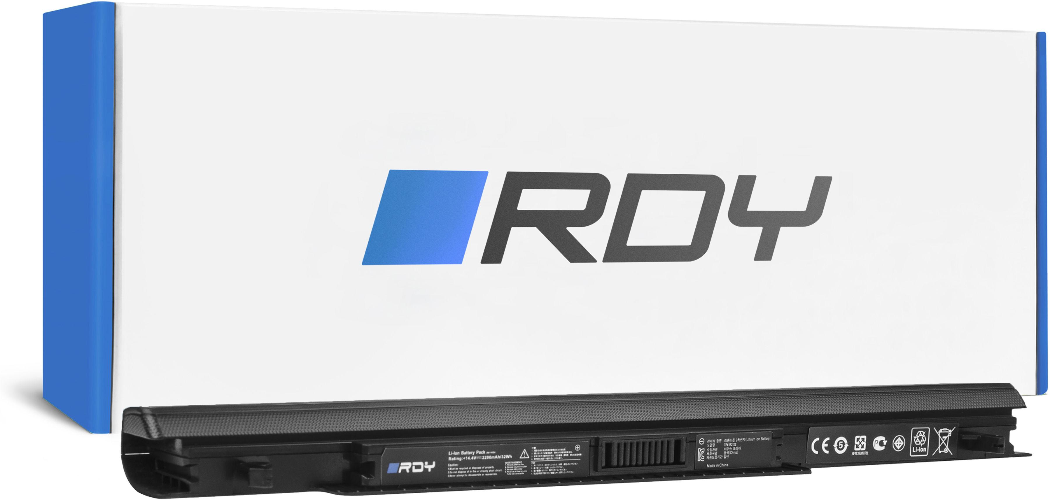 Bateria RDY A41-K56 A32-K56 A42-K56 do Asus K56 K56C K56CA K56CB K56CM R505 S56