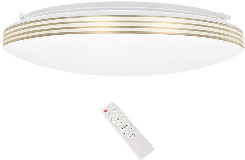 Plafon SIENA GOLD 72W LED Ø550 mm