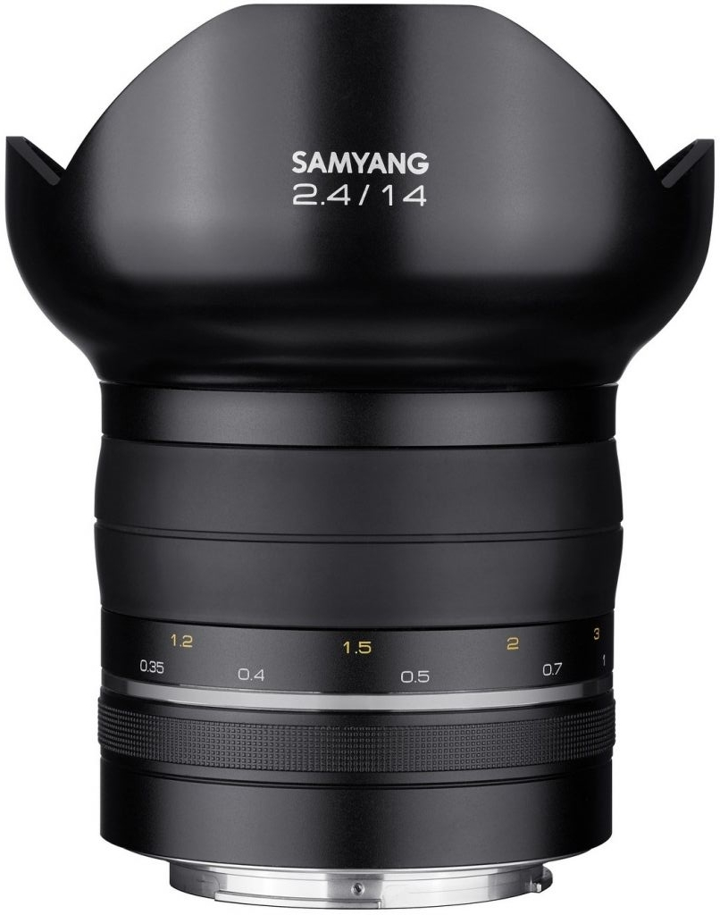Samyang XP 14mm F2.4 - obiektyw stałoogniskowy do Canon EF Samyang XP 14mm F2.4