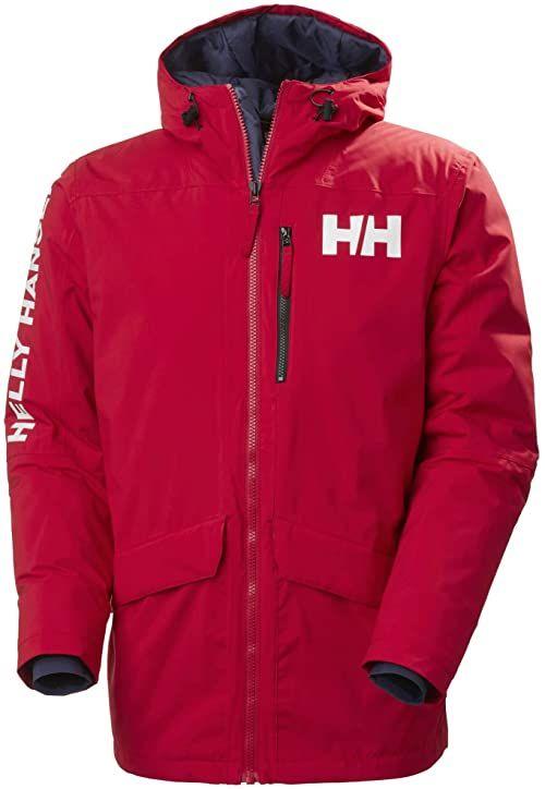 Helly Hansen Męska parka męska Active Fall 2 czerwony czerwony S