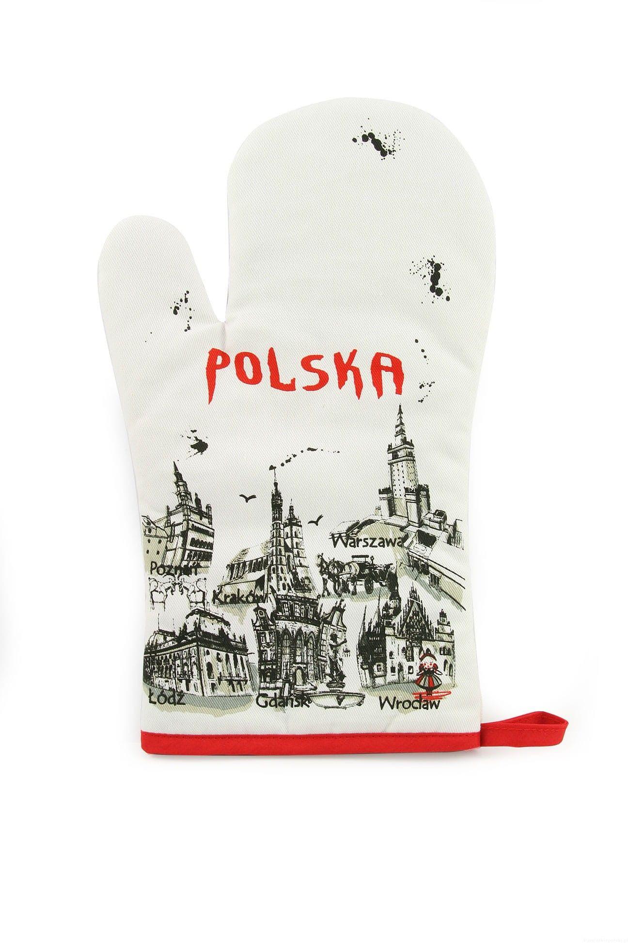 Rękawica kuchenna Polska farba