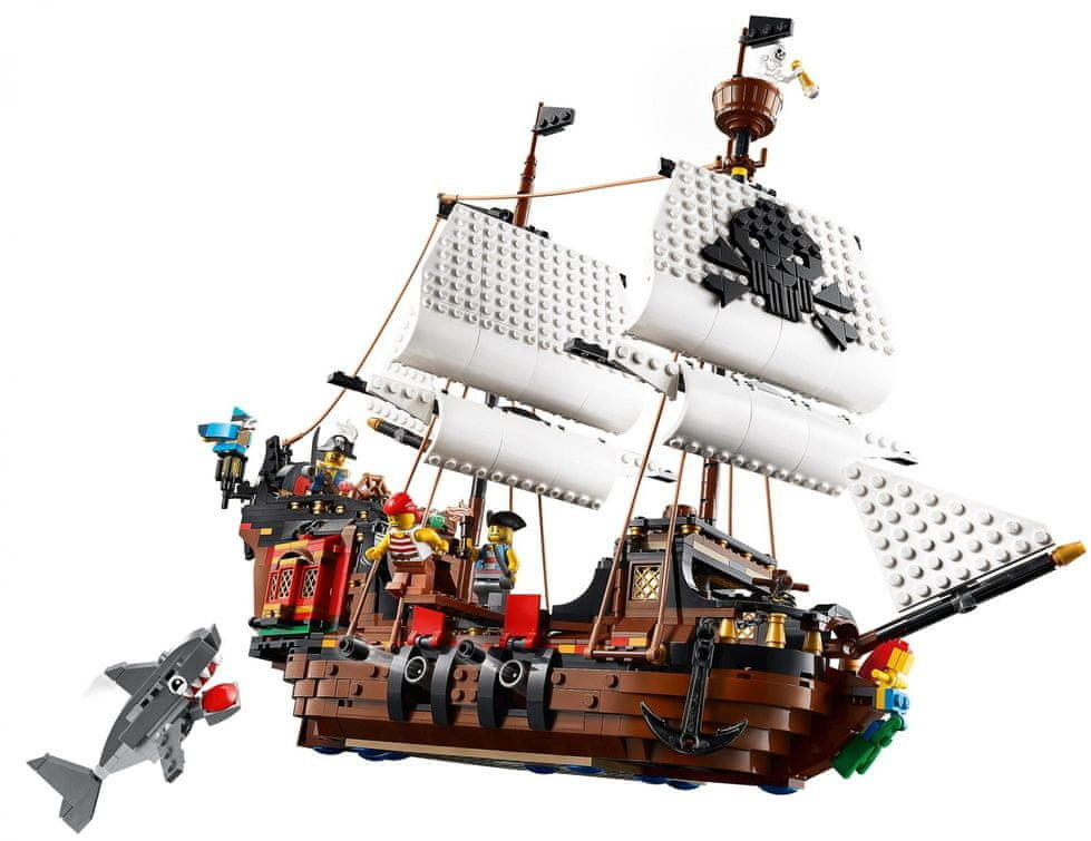 LEGO Creator - Statek piracki 31109