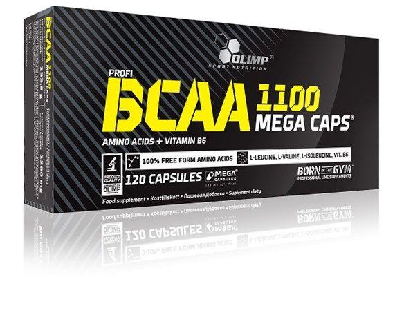 BCAA Mega Caps 120caps