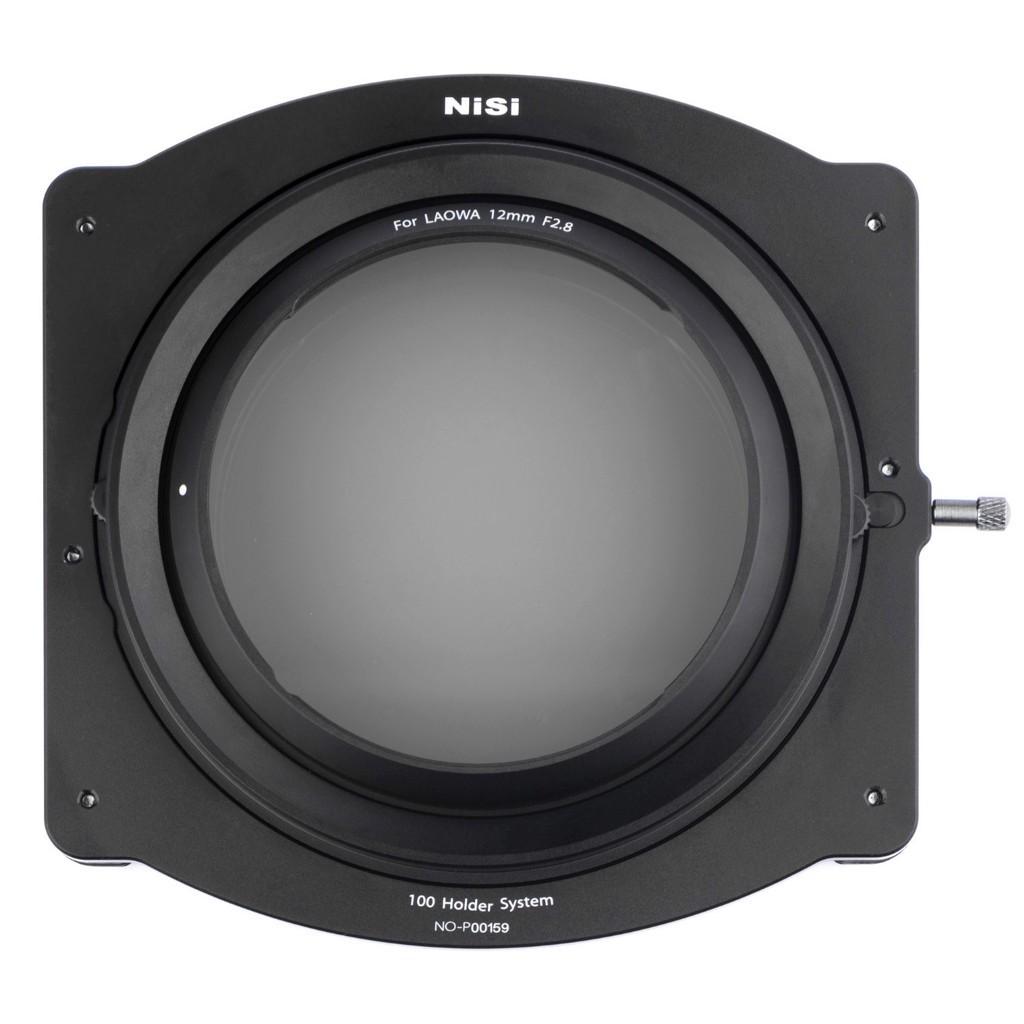 Zestaw holdera systemu NiSi 100mm do obiektywu Laowa 12mm f/2.8