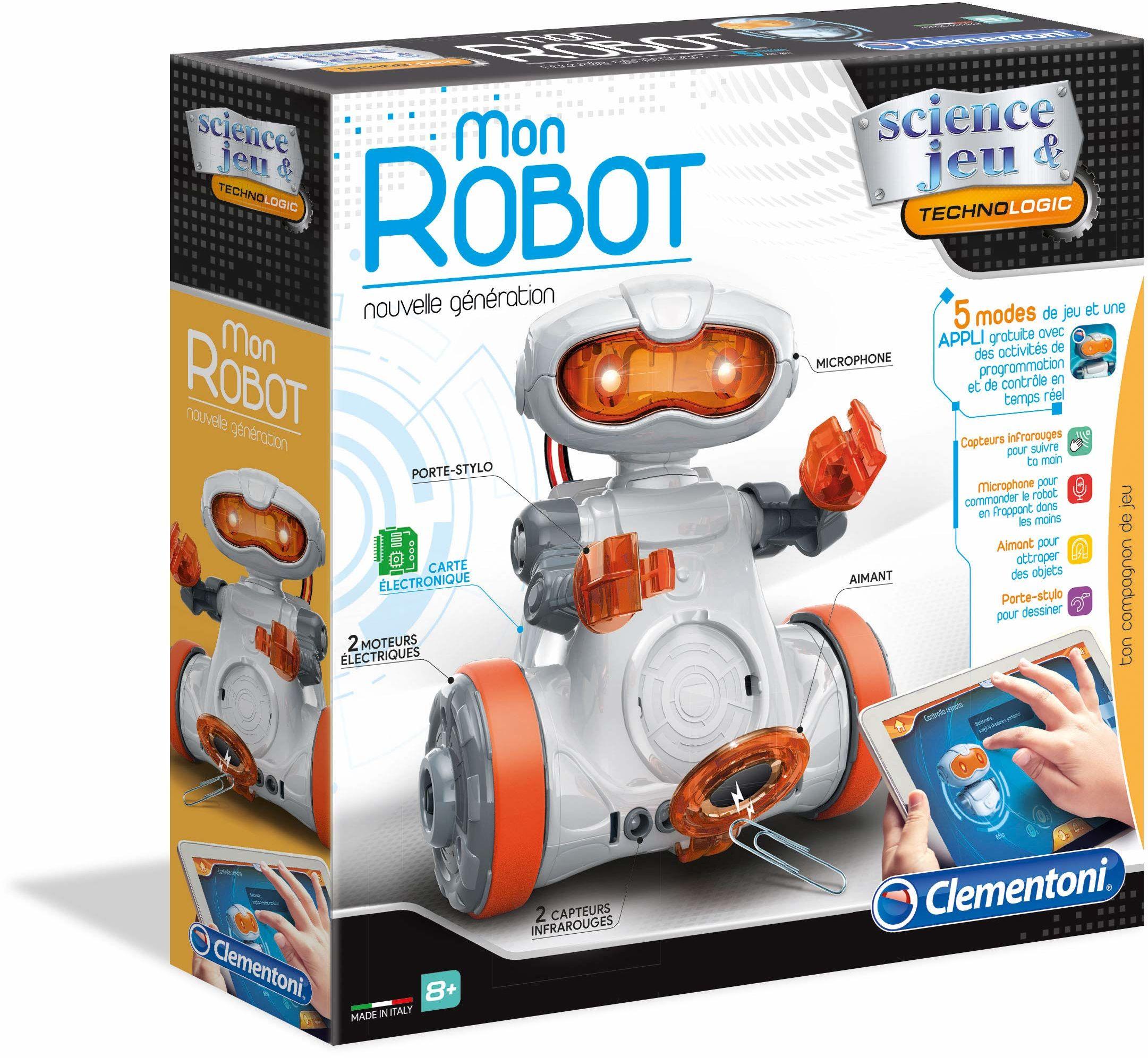 Clementoni -Mon Robot 2.0, 52434, wielokolorowy