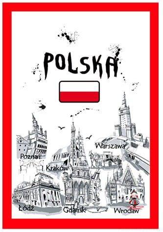 Ściereczka kuchenna Polska farba