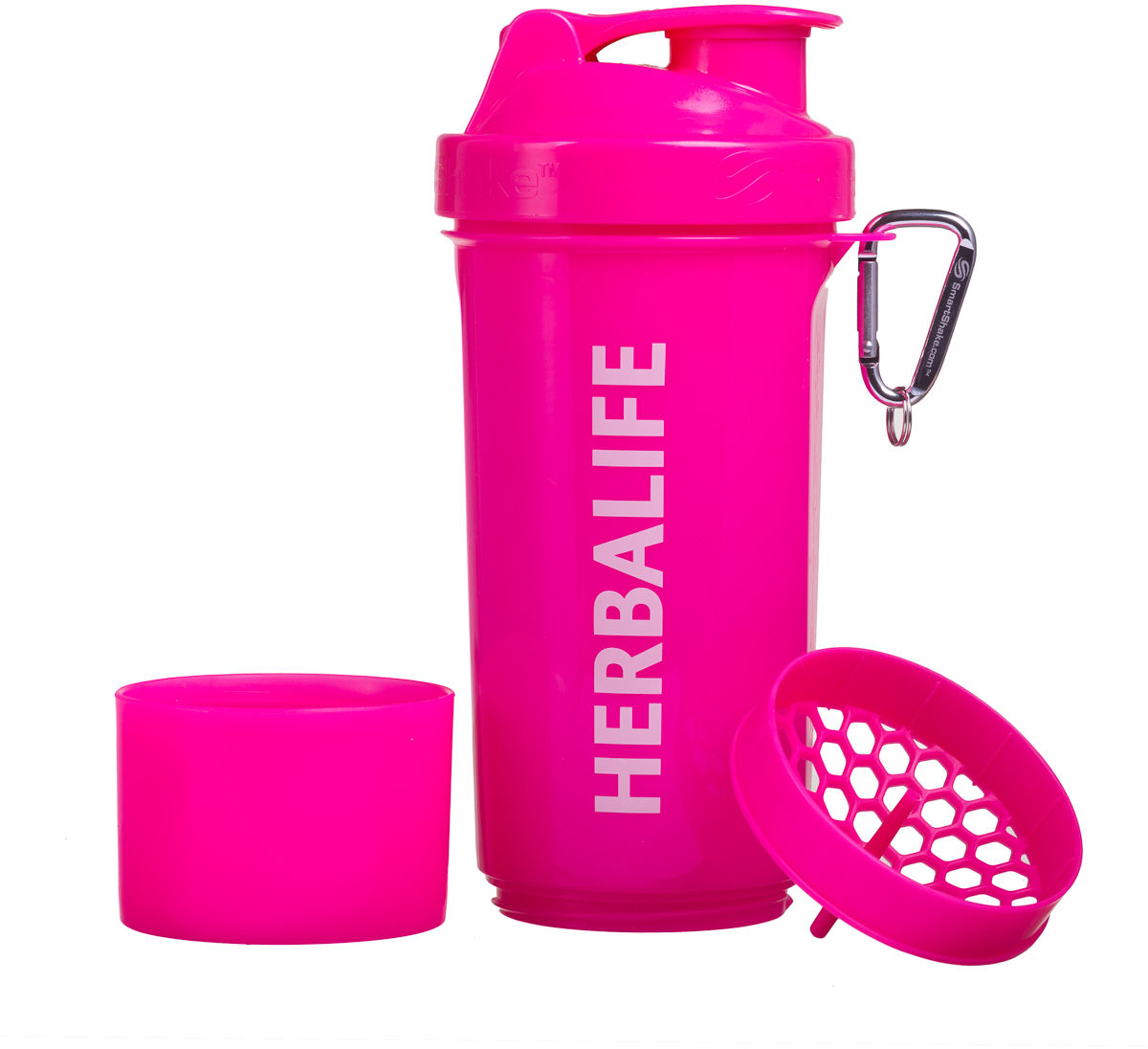 neon shaker różowy