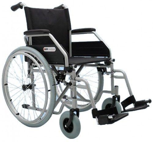 Wózek inwalidzki stalowy REGULAR