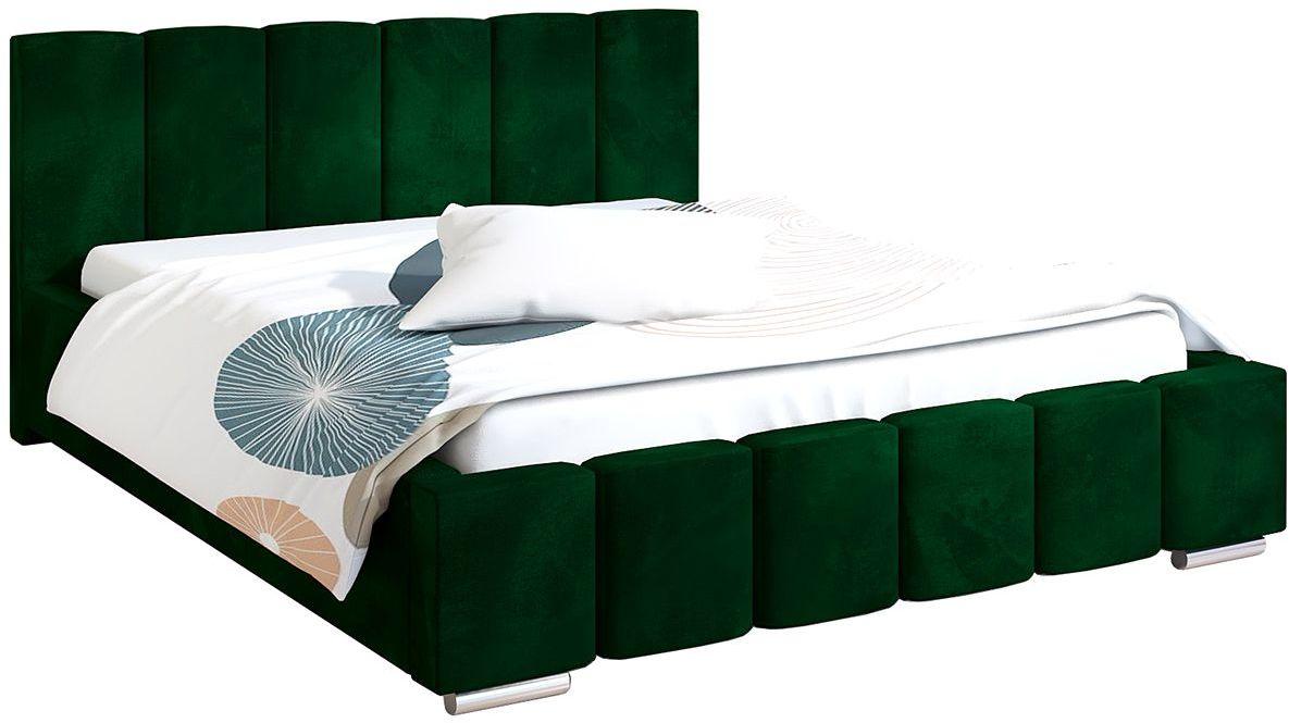 Tapicerowane łóżko 120x200 Galbano 3X - 48 kolorów