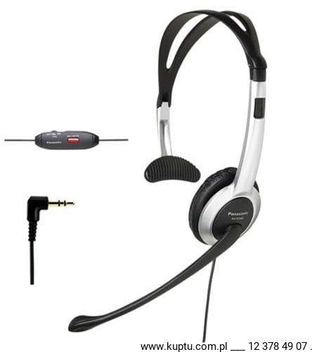 Panasonic KX-TCA430 (RP-TCA430E-S) słuchawka nagłowna