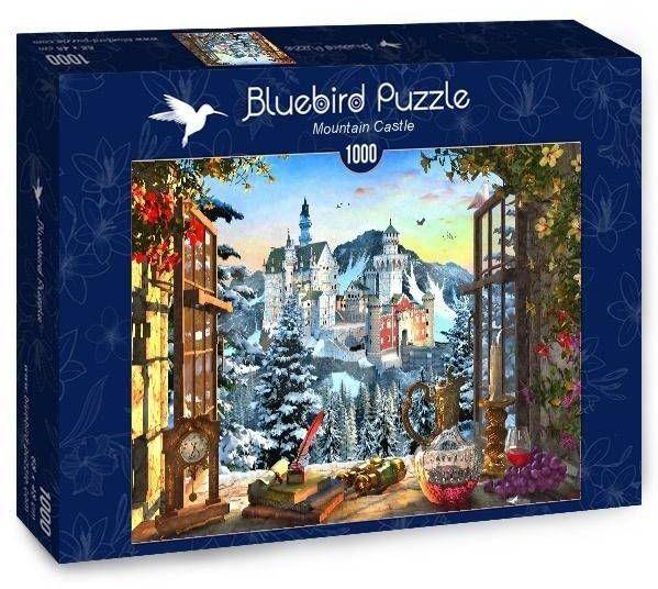 Puzzle 1000 Zamek w górach - Bluebird Puzzle