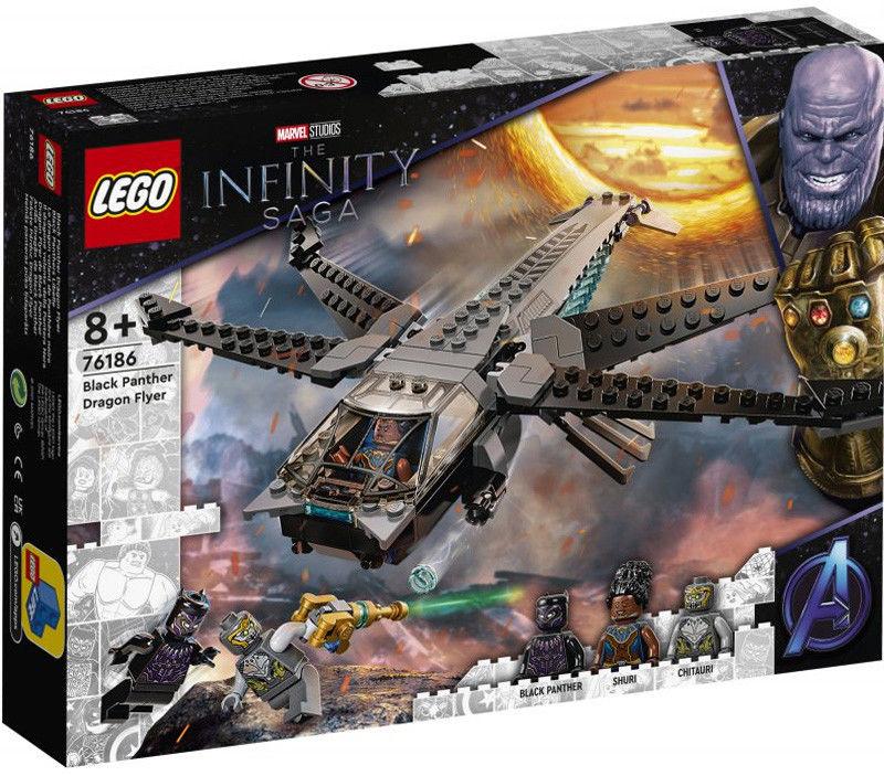 LEGO Super Heroes - Helikopter Czarnej Pantery 76186