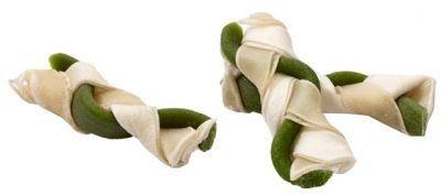 Maced warkocz przysmak dla psa - zielony 6,5cm