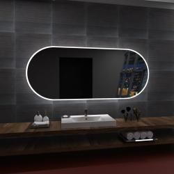 Lustro LED HAMBURG 80x60cm.