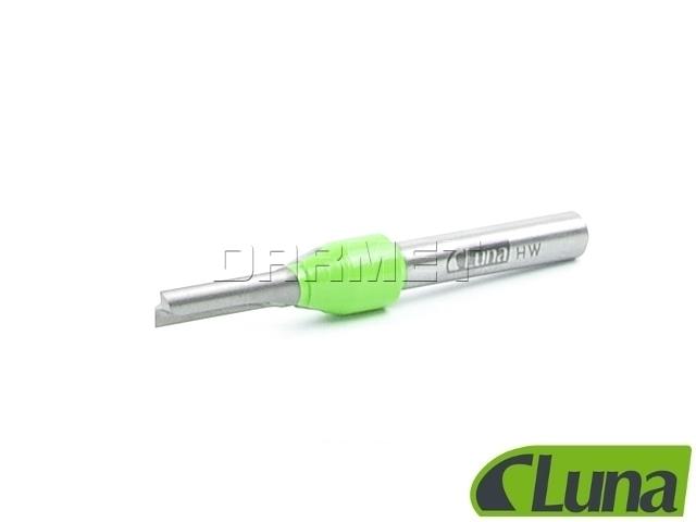 Frez prosty HM do drewna, średnica 5 mm (1 ostrze), długość robocza 15 mm - LUNA (20999-0407)
