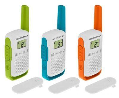 Radiotelefon MOTOROLA T42 Trójpak WYBRANY PIĄTY PRODUKT 99% TANIEJ DARMOWY TRANSPORT!