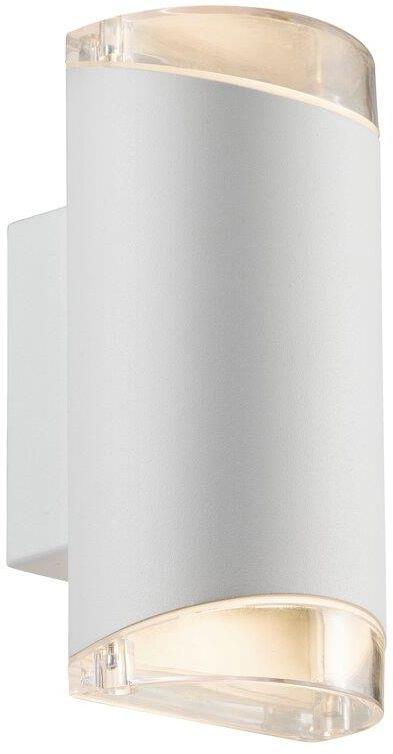 Kinkiet zewnętrzny Arn 45481001 Nordlux podwójna oprawa w kolorze białym