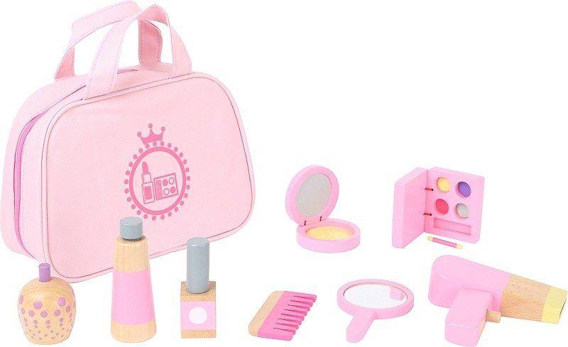 Zestaw kosmetyków Mała Księżniczka 10607-Small Foot, zabawka drewniana