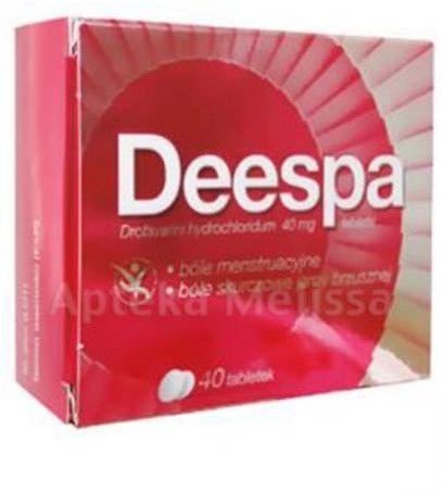 Deespa 40 mg 40 tabletek