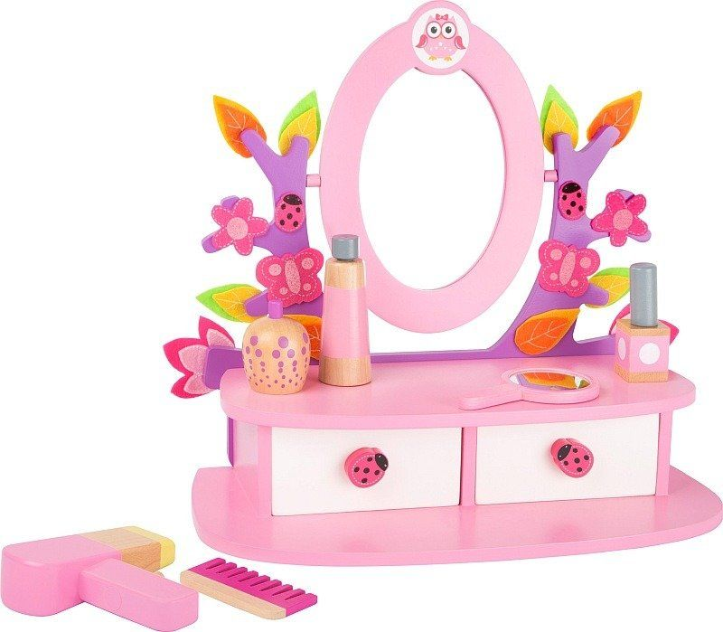 Drewniana toaletka Letnie przesilenie 10608-Small Foot, zabawki dla dziewczynek