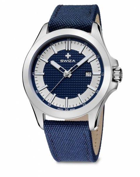 zegarek URBANUS, SST, silver,blue WAT.0761.1004