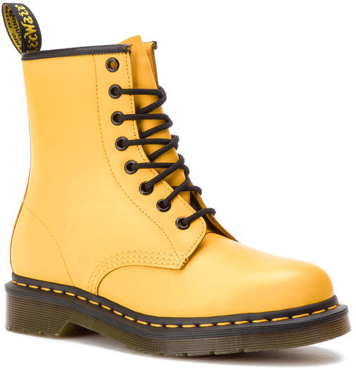 Dr. Martens Glany 1460 Smooth 24614700 Żółty