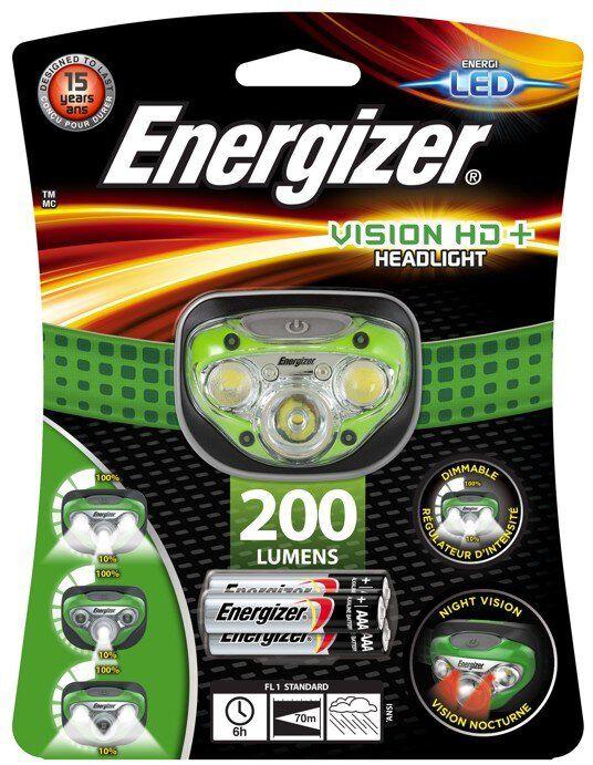 Latarka czołowa Energizer Vision Headlight HD+
