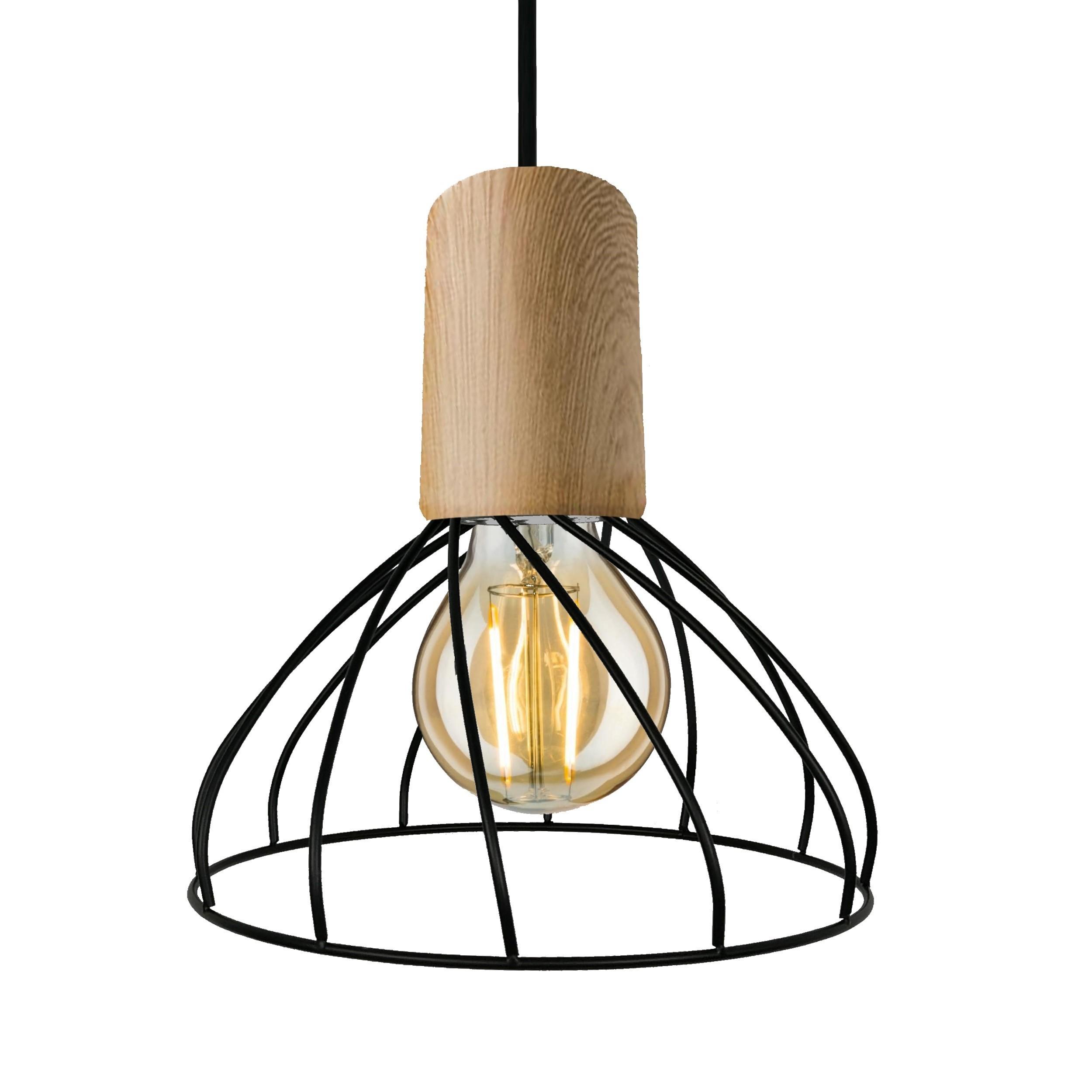 Lampa wisząca Moderno mała E27 LP-1221/1P S E27 BK - Light Prestige Do -17% rabatu w koszyku i darmowa dostawa od 299zł !
