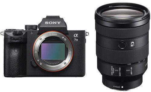Sony A7III + 24-105mm - bezlusterkowiec z obiektywem SEL24105, ILCE-7M3G SONY ILCE-7M3 +FE 24-105mm