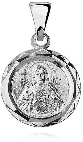 Srebrny medalik Jezus
