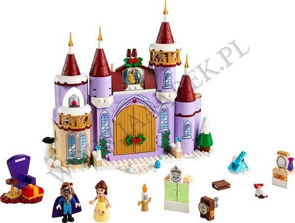 LEGO Disney Princess - Zimowe święta w zamku Belli 43180
