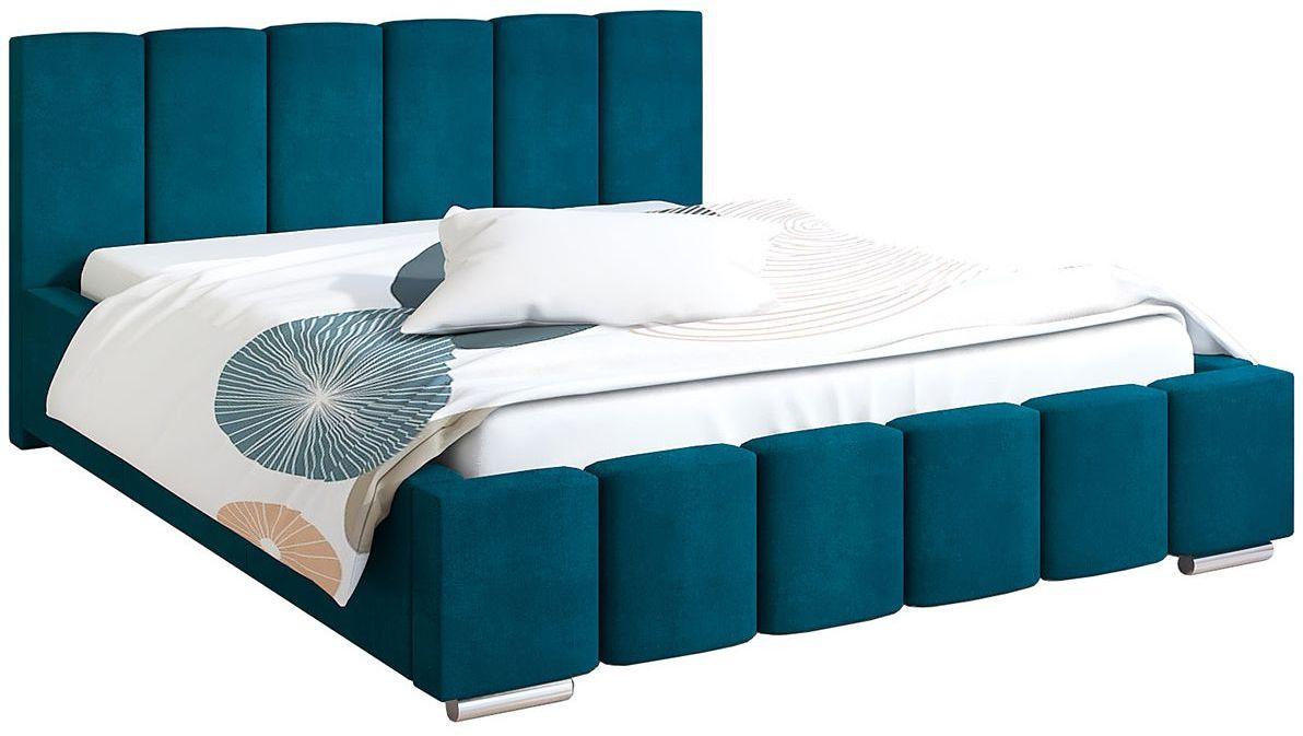 Tapicerowane łóżko 180x200 Galbano 3X - 48 kolorów