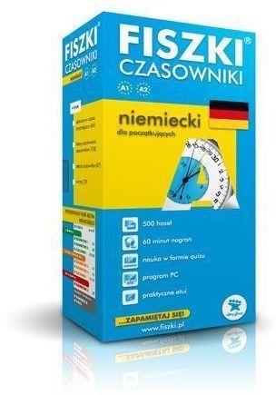 Niemiecki. Fiszki - Czasowniki dla początk. w.2013 - Kinga Perczyńska (red.)