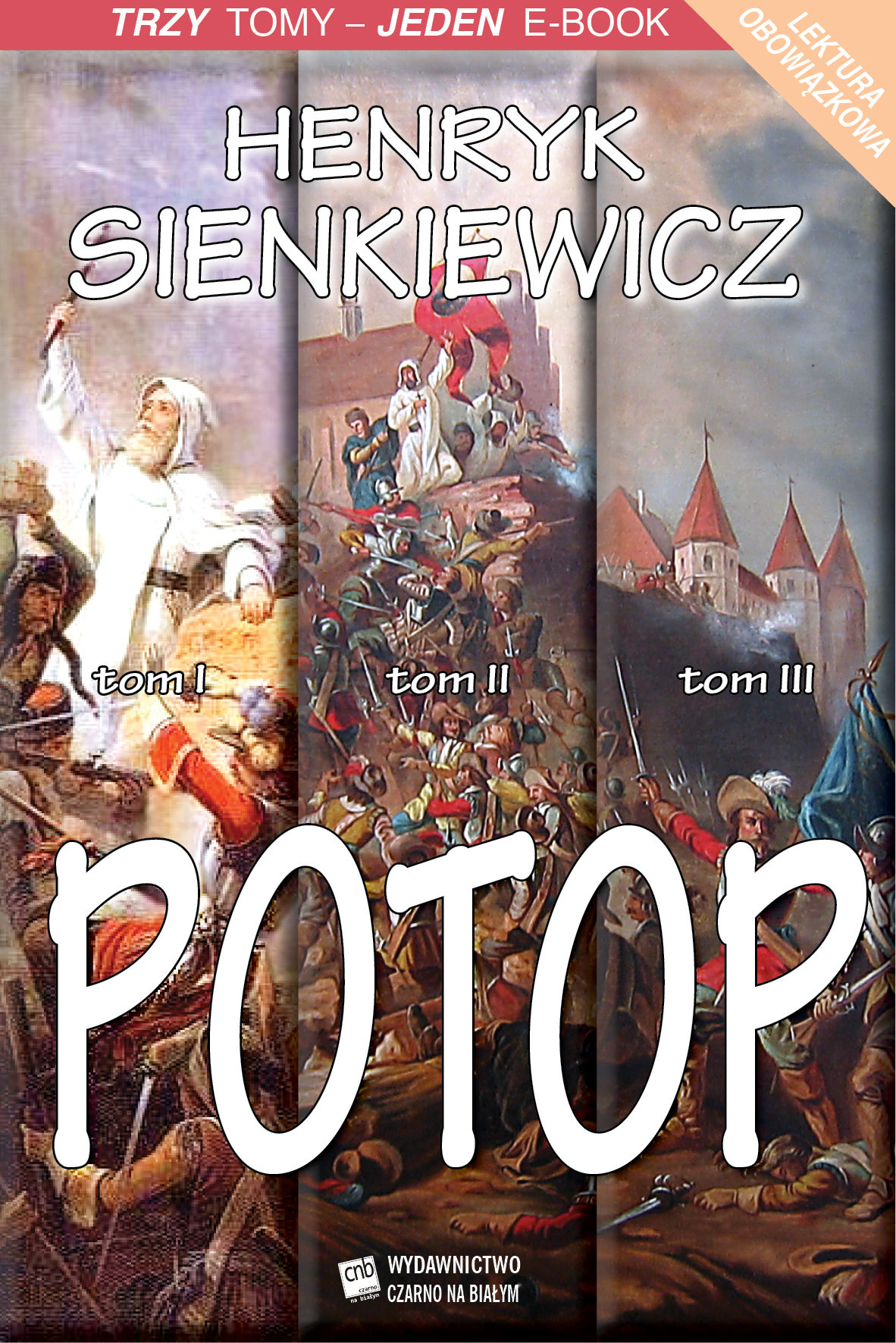Potop  tomy I-III - Henryk Sienkiewicz - ebook